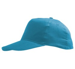 Бейсболка голубая детская