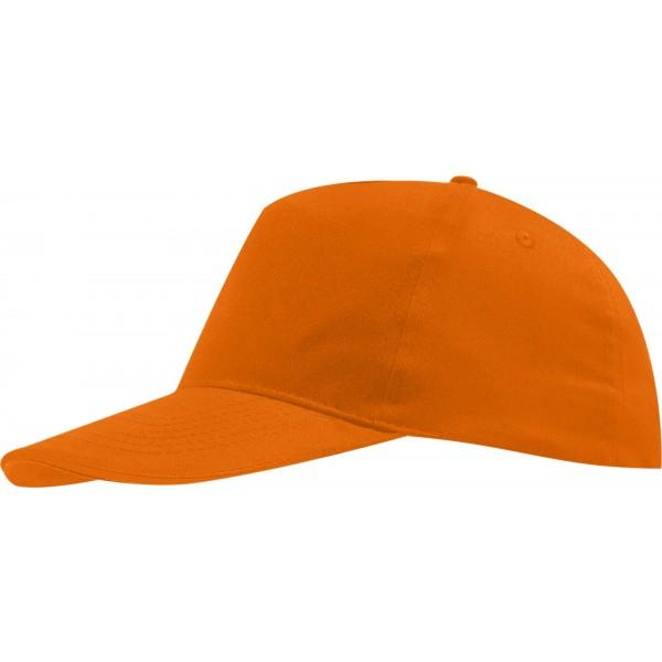 Бейсболка оранжевая детская