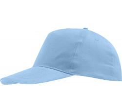 Бейсболка светло-голубая детская
