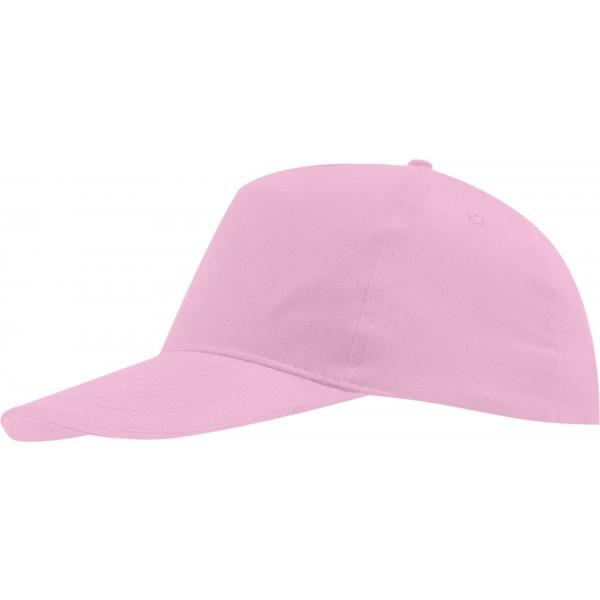 Бейсболка светло-розовая детская