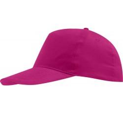 Бейсболка ярко-розовая детская