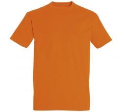 Футболка оранжевая мужская