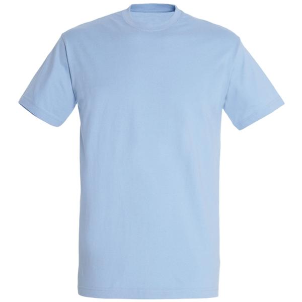 Футболка светло-голубая мужская