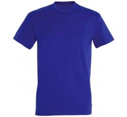 Футболка ярко-синяя мужская