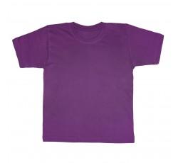 Футболка фиолетовая детская