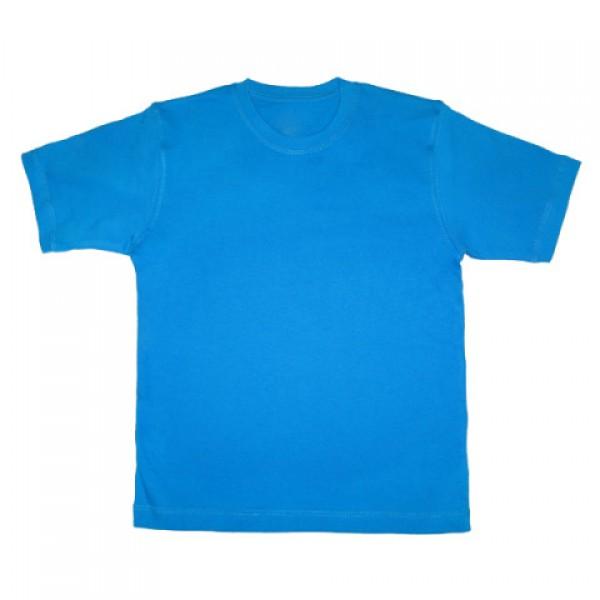 Футболка голубая детская