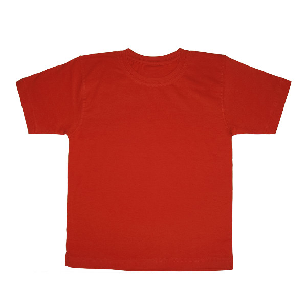 Футболка красная детская