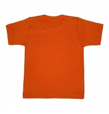 Футболка оранжевая детская
