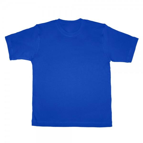 Футболка ярко-синяя детская