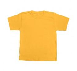 Футболка желтая детская
