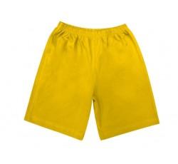 Шорты желтые удлиненные