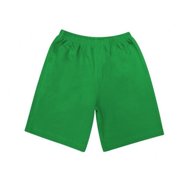 Шорты зеленые удлиненные